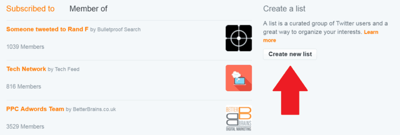 Create-New-Twitter-List