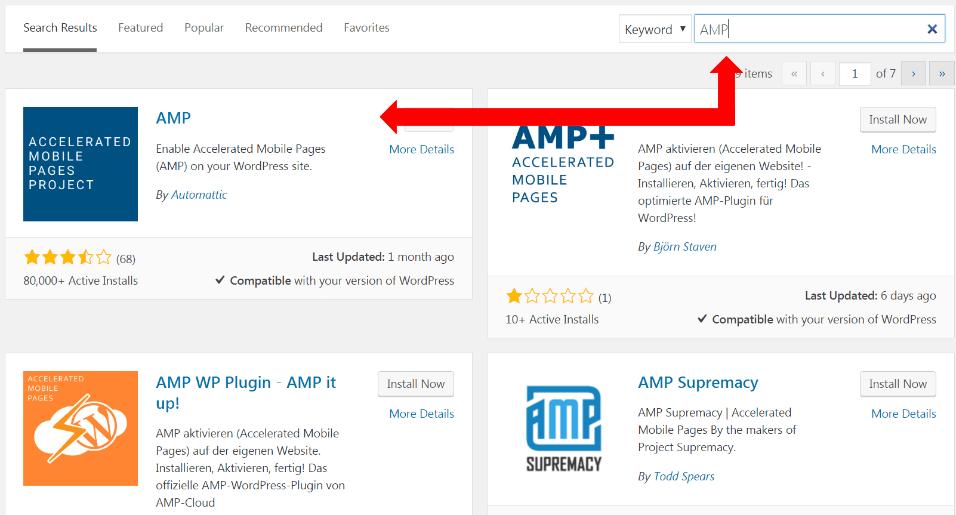 download AMP plugin for apartment SEO