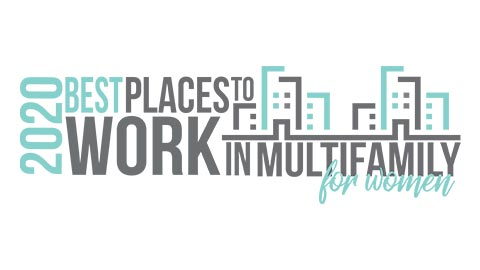 2020 Best Places to Work in Multifamily for Women award winner