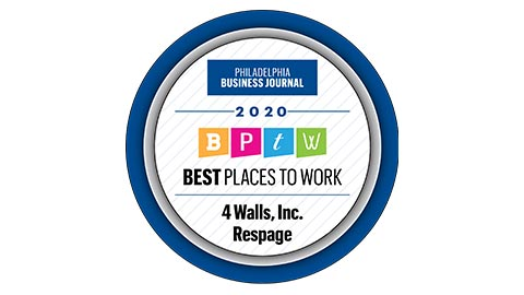 Philadelphia Business Journal Best Places to Work 2020