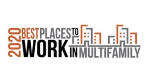 Best Places to Work in Multifamily 2020