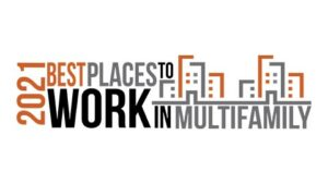 Best Places to Work in Multifamily 2021