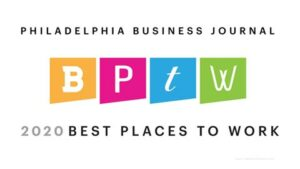 Philadelphia Business Journal Best Places to Work in 2020